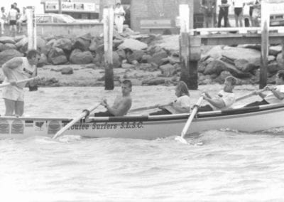 George Bass Marathon 1988 - The Bicentennial George Bass Surfboat Marathon saw Broulee finish in 20th.